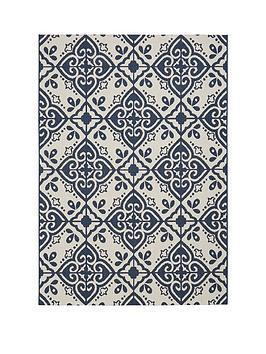 Very Moroccan Tile Flatweave Indoor/Outdoor Rug Picture