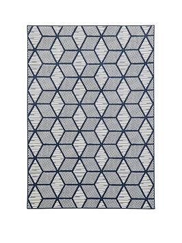 Very Geo Squares Rug Picture