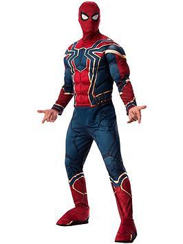 Disney   Avengers 4 Deluxe Mens Iron Spider Costume
