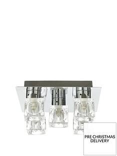 5-light-ice-cube-square-flush-ceiling-light