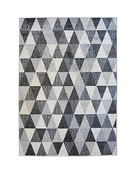 Very Geo Triangles Rug Picture
