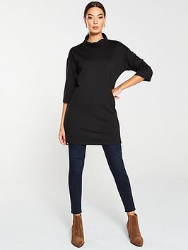 v-by-very-roll-neck-longline-top-black