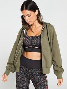 v-by-very-ruched-sleeve-zip-front-hoodie-kahkinbsp
