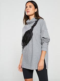v-by-very-roll-neck-longline-split-front-sweat-greynbsp