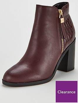 office-albany-contrast-mid-block-heel-ankle-boots-oxblood