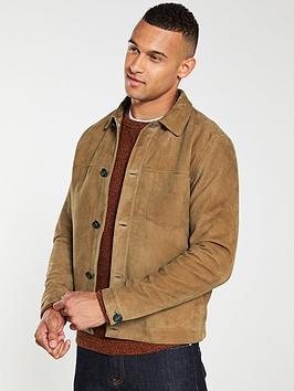 selected-homme-bas-suede-trucker-jacket-camel