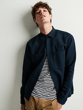 Selected Homme Selected Homme Loose Lars Overshirt - Navy Picture