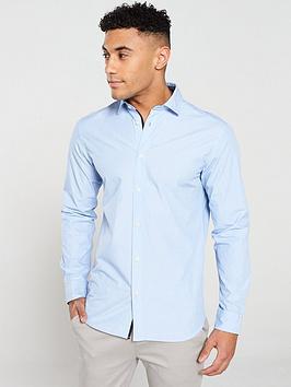 selected-homme-long-sleeved-mark-shirt-sky-blue