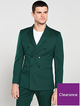 selected-homme-slim-blazer-green