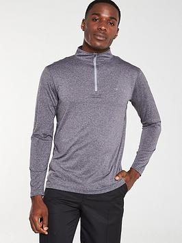 calvin-klein-golf-harlem-tech-14-zip-grey-marl