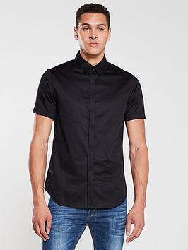 Armani Exchange Armani Exchange Short Sleeve Shirt - Black Picture