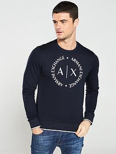 armani-exchange-logo-print-sweatshirt-navy