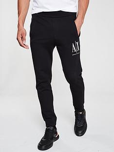 armani-exchange-embroidered-logo-jogging-bottoms-black