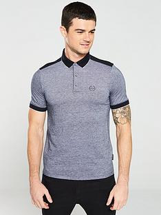 armani-exchange-tipped-pique-polo-shirt-navy