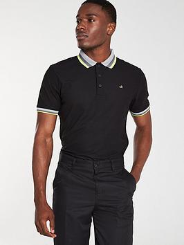 Calvin Klein Calvin Klein Golf Spark Polo - Black Picture