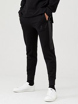 Armani Exchange Armani Exchange Armani Exchange Joggers With Textured Side  ... Picture