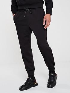 armani-exchange-reflective-logo-jogging-bottoms-black
