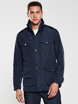 Armani Exchange   Field Jacket With Detachable Gilet - Navy