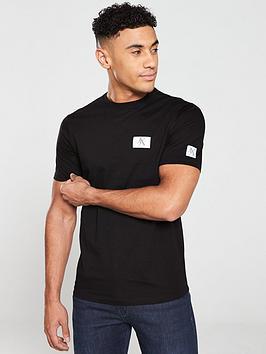 armani-exchange-reflective-logo-t-shirt-black