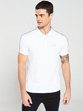 armani-exchange-panel-polo-shirt-whitecastor-grey