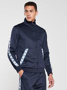 armani-exchange-logo-tape-tracksuit-top-navy
