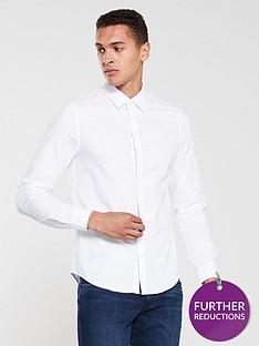 armani-exchange-oxford-shirt-white