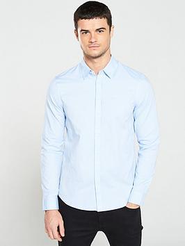 armani-exchange-oxford-shirt-light-blue