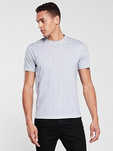 armani-exchange-small-all-over-logo-print-t-shirt-blackwhite