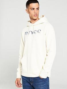 boss-marco-large-logo-hoodie-ecru