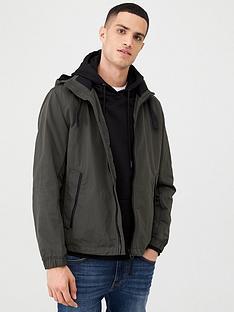 boss-ovoda-lightweight-hooded-coat-khaki