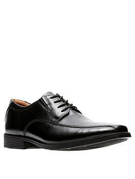 Clarks Clarks Tilden Walk Shoes - Black Picture