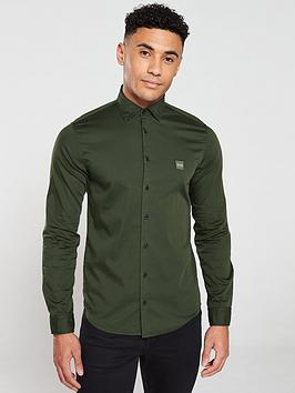 boss-mypopnbspii-long-sleeved-shirt-forest-green