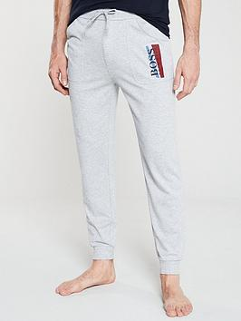 boss-bodywear-authentic-cuffed-lounge-pants-grey