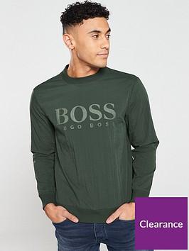 boss-mesh-overlay-sweatshirt-green
