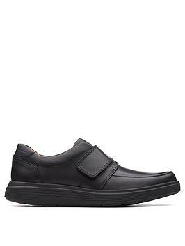 Clarks Clarks Un Abode Strap Shoes - Black Picture