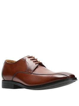 Clarks Clarks Gilman Mode Shoes - Dark Tan Picture