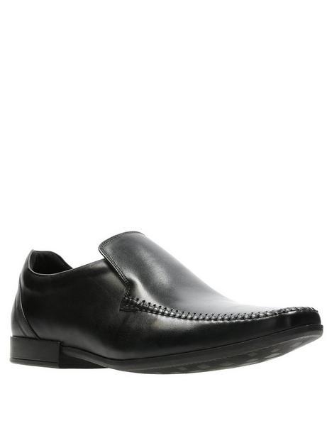 clarks-glement-seam-shoe-black