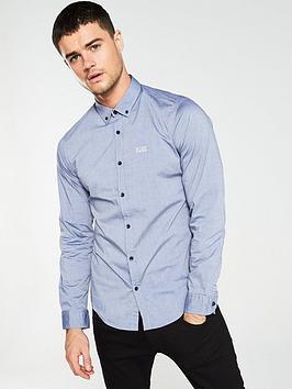 boss-biado-regular-fit-stretch-shirt-navy