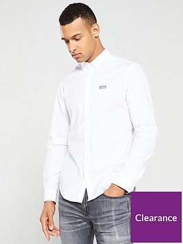 boss-biado-stretch-shirt-white