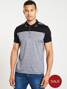 boss-paule-1-colour-block-polo-shirt-blackgrey
