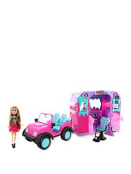Sparkle Girlz Sparkle Girlz Sparkle Girlz Jeep With Doll And Beauty Salon Picture