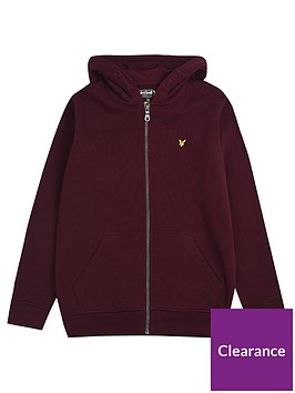 lyle-scott-boys-classic-zip-through-hoodie-wine