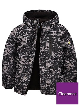 lyle-scott-boys-all-over-print-hooded-parka-coat-black