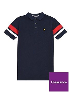 lyle-scott-boys-short-sleeve-contrast-band-polo-shirt-navy
