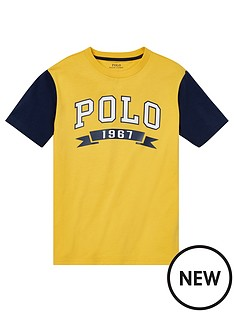 ralph-lauren-boys-short-sleeve-polo-raglan-t-shirt-yellow