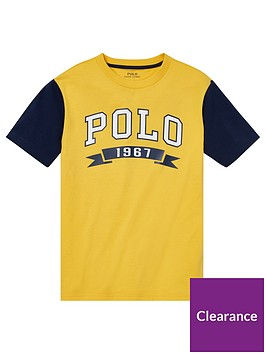 ralph-lauren-boys-short-sleeve-polo-raglan-t-shirt-yellow