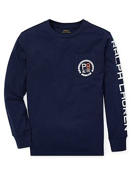 ralph-lauren-boys-long-sleeve-arm-print-t-shirt-navy