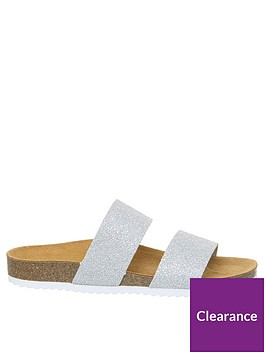 office-oslo-flat-sandals-silver