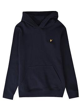 lyle-scott-boys-classic-overhead-hoodie-black
