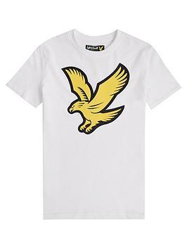 lyle-scott-boys-short-sleeve-eagle-logo-t-shirt-white